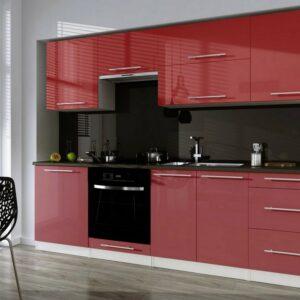 Кухня красная Диана