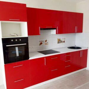 Кухня красная Линн