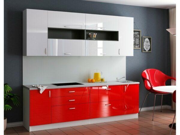 Кухня красная Санди