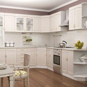 Кухня белая Роуз