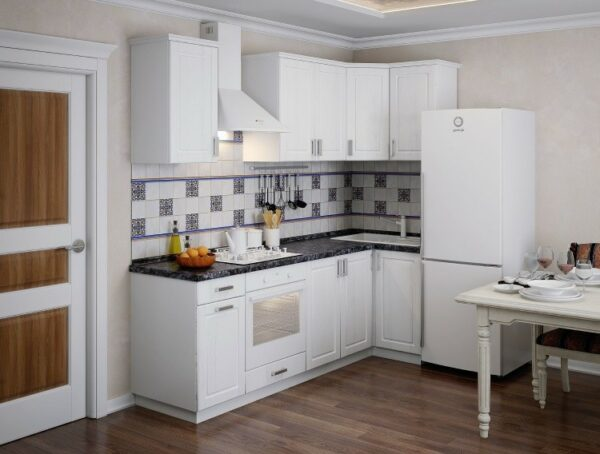 Кухня белая Марина