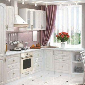 Кухня белая Тина
