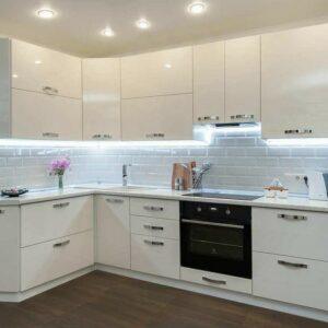 Кухня белая Олсен