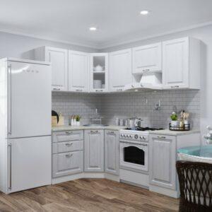 Кухня белая Летиция