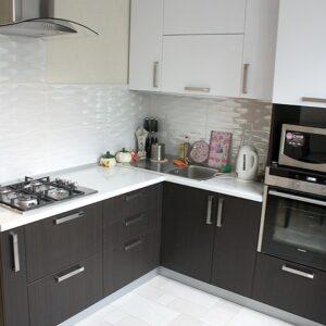 Кухня черная Кларксон