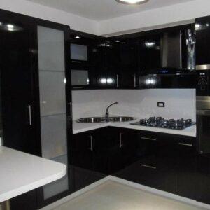 Кухня черная Осборн