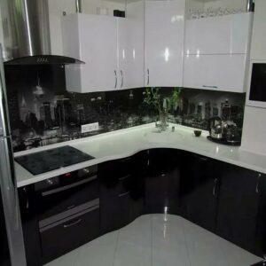 Кухня черная Михаэла