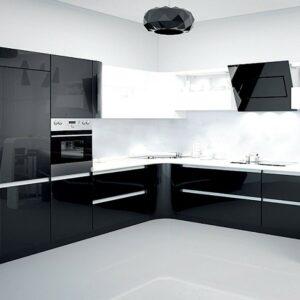 Кухня черная Анджела