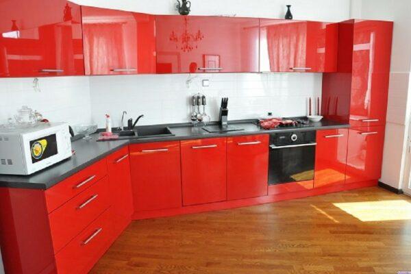 Кухня красная Хиллари