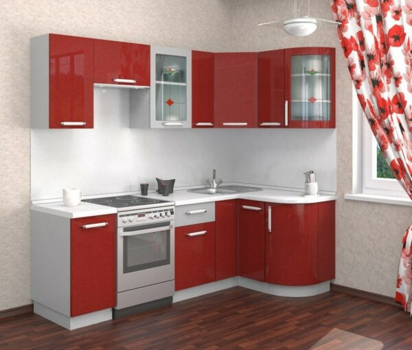 Красная кухня Хлоя