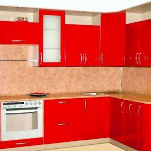 Кухня красная Аванти